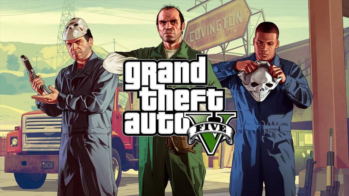 GTA 5 by Rockstar Games and Take-Two Interactive