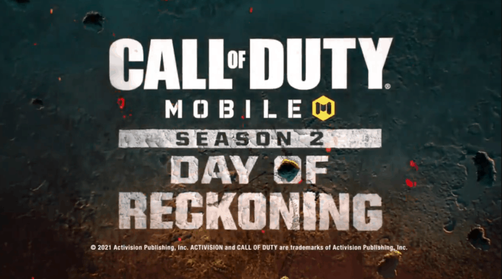 Cod Mobile Season 2 theme